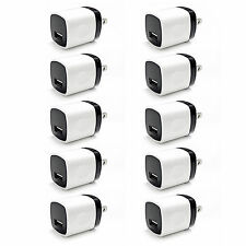 10X 1A USB Wall Charger Portable Travel AC Home Power Adapter FOR iPhone Samsung