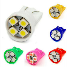 100pcs Colorful T10 4 SMD 5050 LED 194 W5W Car Side Wedge Tail Light Lamp Bulbs