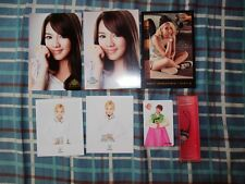 SNSD GIRLS GENERATION HYOYEON OFFICIAL POSTCARD CARD + OH PHONE STRAP