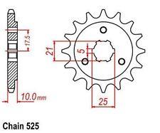KR Ritzel 15Z Teilung 525 SUZUKI XF 650 Freewind 97-02 New... front sprocket