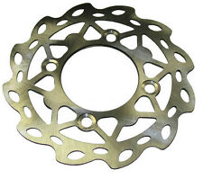 7.5 in Dirt bike Wavy Rotor (4-bolt,76mm I.D) for Coolster 214,210X-70,210A,214S