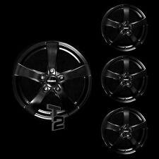 4x 15 Zoll Alufelgen für Toyota Yaris, Verso / Dezent RE dark (B-3511219)