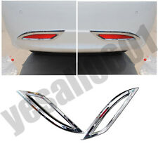 Rear Bumper Fog Light Cover Trim Molding Reflector For Hyundai Sonata 11-14