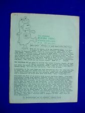 The Celebrated Flying Frog of Contra Costa County 8, 23 June 1963. USA Fanzine