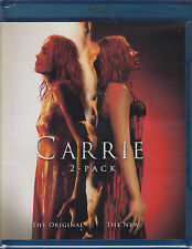 Carrie: The Original / The New - 1976 / 2013 (Bluray, 2-Disc Set) New