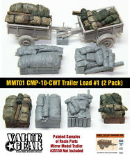 1/35 Mirror Models Trailer Loads #1 (2 Pack) - Value Gear - Resin Cargo/Stowage
