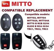 RADIOCOMANDO TELECOMANDO BFT ROLLING CODE  433MHZ // COPIA CANCELLO