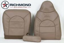 1999 Ford F250 F350 4x4 Lariat Diesel -DRIVER COMPLETE Leather Seat Covers TAN