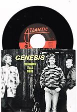 "Genesis  Throwing it All Away/Do The Neurotic  Single W/P  7""   45 RPM"