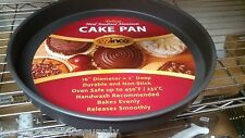 "10""x 2"" Round Deluxe Cake/Deep Dish Pizza Pan- Anodized Aluminum, Non-Stick"