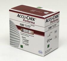 Accu Chek Performa 50x2 Diabetic Test Strips (100 Strips) Expiry05/2018 wit Code