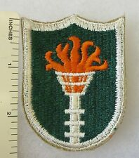 KOREAN COMMUNICATIONS ZONE ORIGINAL Post WW2 Vintage US ARMY PATCH Cut Edge