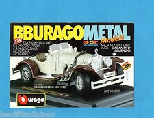 TOP990-PUBBLICITA'/ADVERTISING-1990- BURAGO - MERCEDES BENZ SSK (1928) 1/24