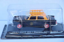 ALTAYA TAXI  PEUGEOT 404 BUENOS AIRES 1965 1:43