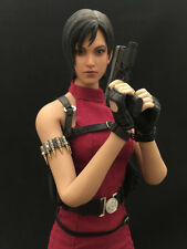 Hot Custom Toys 1/6 Resident Evil Biohazard 2 Ada Wong Red Outfit Set for Phicen