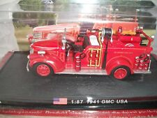 1941 USA GMC 1/87  Amercom Fire Truck