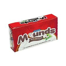 X36 Mounds Coconut Filled Dark Chocolate Candy Bars 1.75 oz each Bar