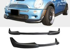 LOWER FRONT BUMPER LIP PROTECTOR SPOILER POLY BODY KIT FOR 02-06 MINI COOPER