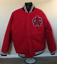 Chicago American Giants Throwback Jacket XL Red Sewn Stall & Dean Negro Leagues
