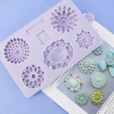 Karen Davies Brooch Sugarcraft Mould 5 different brooches Next Day Despatch