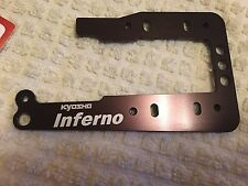 KYOSHO INFERNO MP9 TKI3, ONE PIECE ENGINE MOUNT PLATE, OPTION PART, IFW456