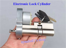 Full Metal Gear Motor Electronic Lock Core Door Key Lock Cylinder Rebuild Repair