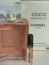 Sexy 5ml Eau De Parfum Atomizer spray CHANEL COCO MADEMOISELLE, for workout bag