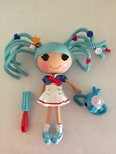 LaLaloopsy Silly Hair MARINA ANCHORS & WHALE Figure Full Size Sailor Doll USED