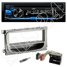 JVC CD USB Tuner blau FORD C-MAX Focus CC DA3  Radio Blende ISO Adapter+Antenne