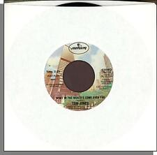 """Tom Jones - What in the World's Come Over You + Things That Matter Most- 7"""" 45"""