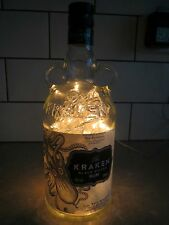Upcycled 700ml Rum bottle lamp