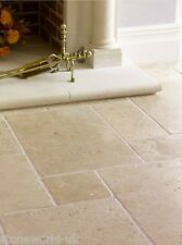 Tumbled Classic Travertine Pattern Floor Tiles PACKAGE DEAL