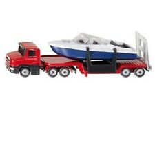 *NEW* SIKU 1613 BLISTER PACK Scania Low Loader with Speed Boat Diecast Model