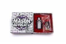 Authentic 27mm Mason Advocate by Vapergate * Advocacy Donation Included!*