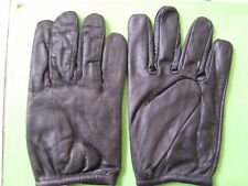 POLICE SEARCH GLOVE ULTRA THIN GENUINE LEATHER
