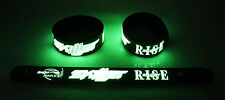 Skillet NEW! Glow in the Dark Rubber Bracelet Wristband Monster gg198