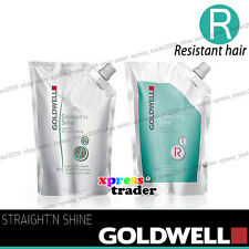 Goldwell straight'n shine Rebonding 400ml + Neutralizing 400ml - Resistant hair