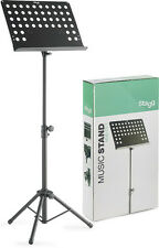 Stagg MUS-C5 T Orchestral Music Stand Black