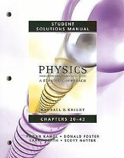 Student Solutions Manual for Physics for Scientists and Engineers: A Strategic A
