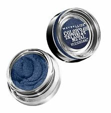 MAYBELLINE Lot of Two Color Tattoo 24 Hour Eyeshadows 75 Electric Blue SEALED