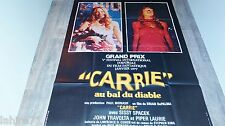 CARRIE  ! brian de palma stephen king  affiche cinema 1976
