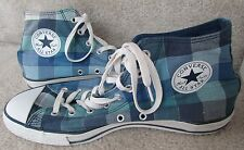 Converse Chuck Taylor All Star Plaid Hi Tops Sneakers 109855F Retro Shoes Size 1