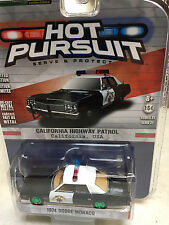 Greenlight 1/64 GREEN MACHINE CHP California Highway Patrol Dodge Monaco Police