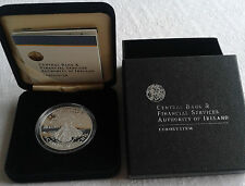 2008 Ireland €10 Silver Proof Coin UNESCO Heritage Site of Skellig Michael