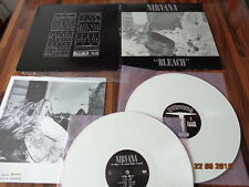 "NIRVANA  ""BLEACH"" - VINYL 2 LP - 2009 - SP834 - WHITE WAX"