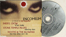 LED ZEPPELIN CD Encomium - A Tribute UK PROMO Sampler SHERYL CROW , Stone Temple