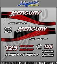 MERCURY 125hp - EFI - OUTBOARD DECALS