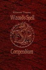 Wizard's Spell Compendium, Volume 3 (Advanced Dungeons & Dragons)