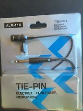 ADAM ALM-110 TIE-PIN ELECTRET CONDENSER MICROPHONE LAVALIER  PRO AUDIO EQUIPMENT