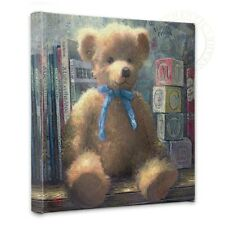"Thomas Kinkade Wrap - Trusted Friend Blue Bell 14"" x 14"" Gallery Wrapped Canvas"